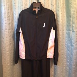 New Balance Breast Cancer Track Suit Medium